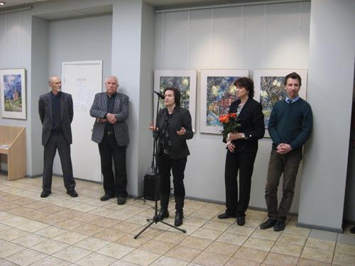 Открыта выставка замечательного педагога и художника Перегородиной Ирины Андреевны