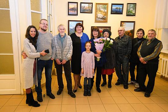 Состоялось открытие выставки Татьяны Красовской