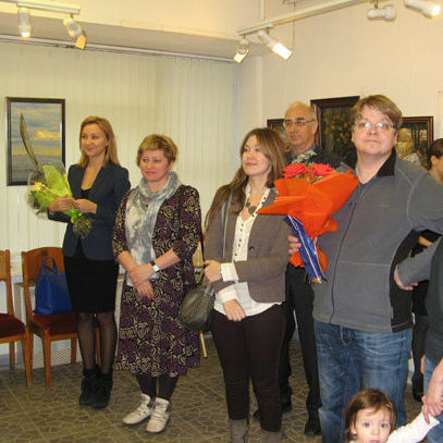 Открылась персональная выставка Татьяны Красовской