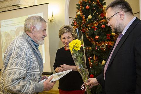 Поздравляем Юрия Васильевича Трофимова с получением стипендии Правительства Республики Карелия!