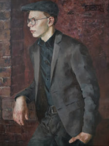 Портрет брата. Холст, масло