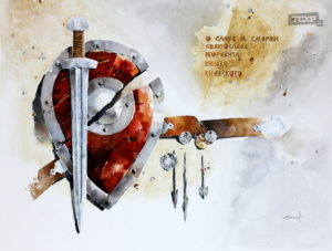 Скоков Евгений, Иллюстрация