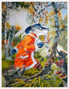 Скоков Евгений, Иллюстрация к сказке Красная шапочка